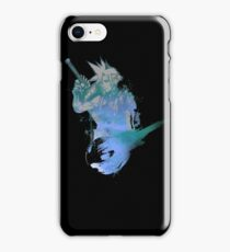 Cloud Strife Meteor (Black) iPhone Case/Skin