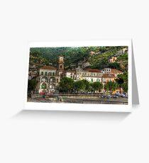 Maiori, Italy Greeting Card