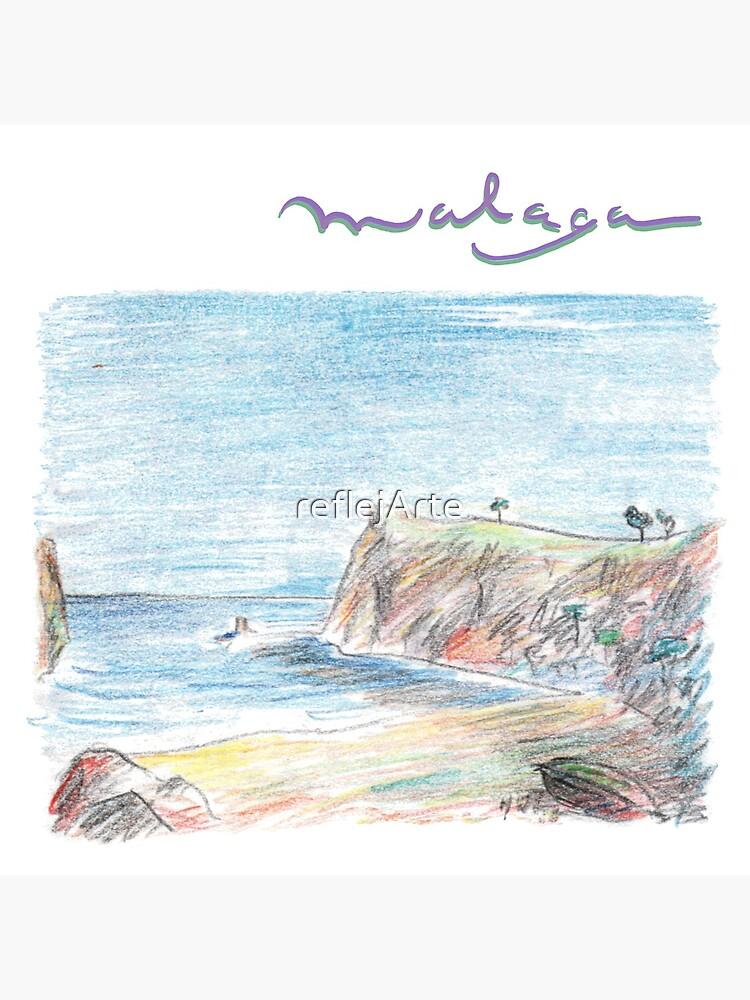 Malaga · Holidays on the Costa del Sol · by reflejArte