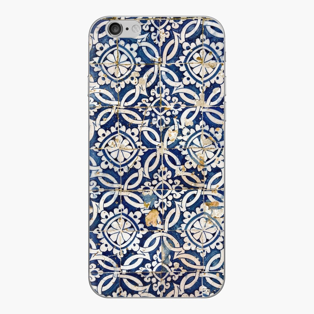 Portuguese glazed tiles iPhone Skin