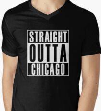 Straight Outta Chicago Men's V-Neck T-Shirt