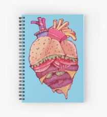 Inner Fast Food Spiral Notebook