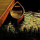 A canoe morning by Joshua Greiner