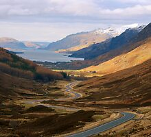The Road to Loch Maree by simpsonvisuals