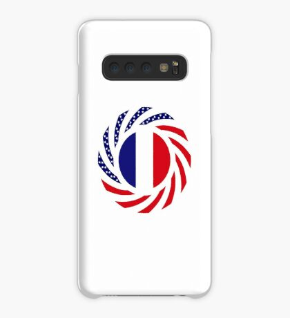 French American Multinational Patriot Flag Series Case/Skin for Samsung Galaxy