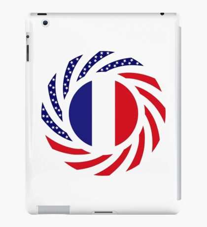 French American Multinational Patriot Flag Series iPad Case/Skin