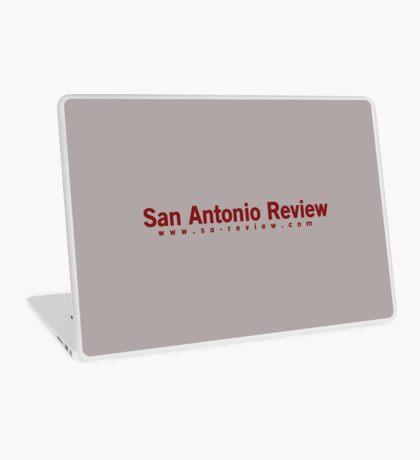 San Antonio Review with URL Laptop Skin