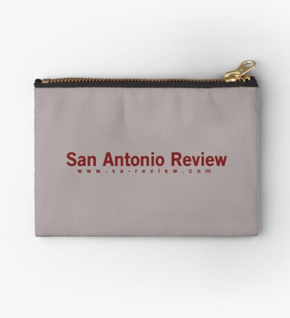 San Antonio Review with URL Zipper Pouch