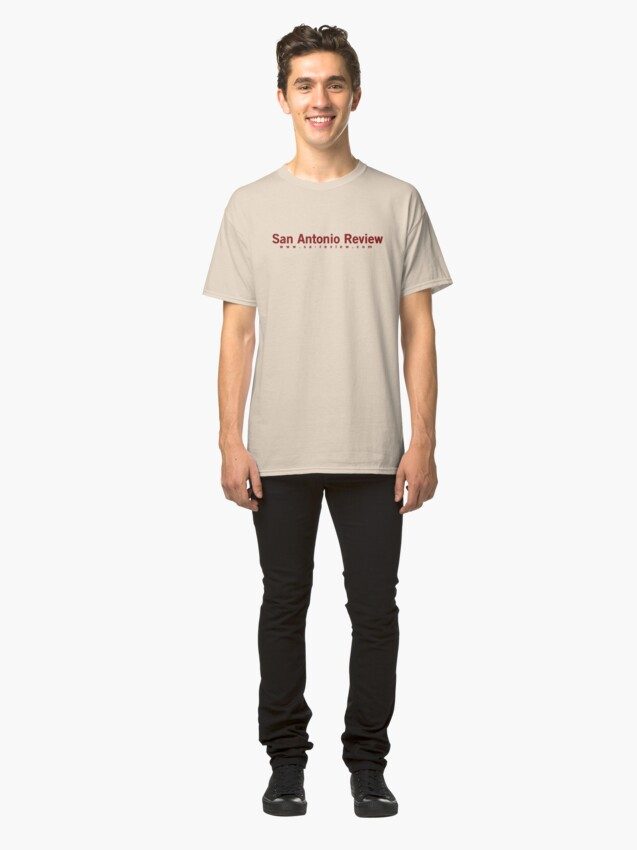 Alternate view of San Antonio Review with URL Classic T-Shirt