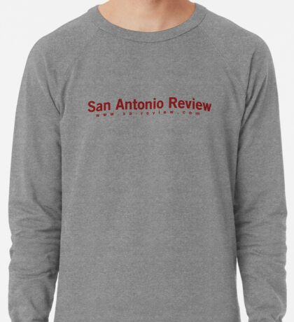 San Antonio Review with URL Lightweight Sweatshirt