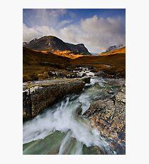 Scotland: Autumn in Glencoe Photographic Print