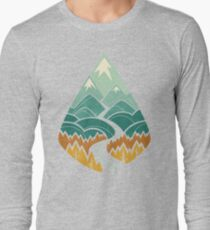 The Road Goes Ever On: Autumn Long Sleeve T-Shirt