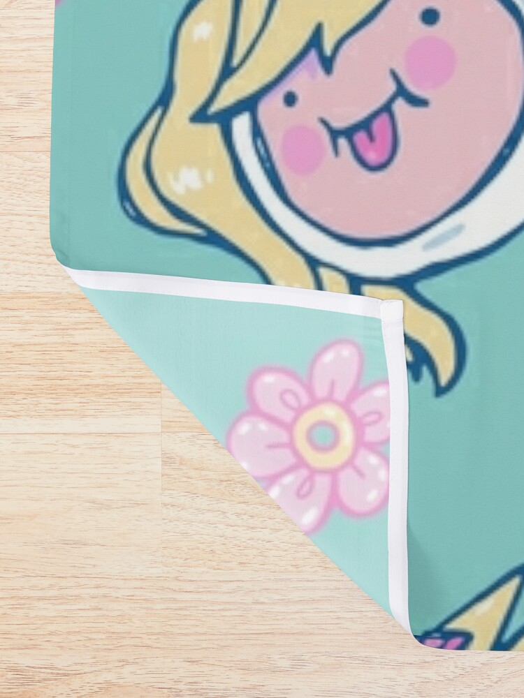 Alternate view of Adventure Time Friends Shower Curtain