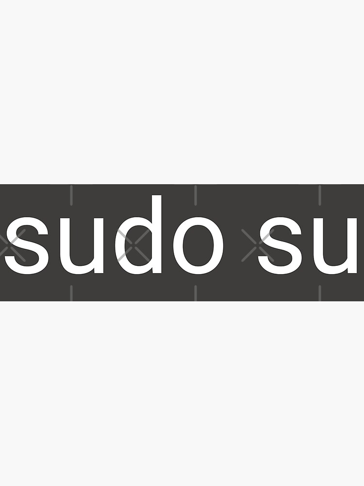 sudo su command by willpate