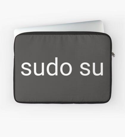 sudo su command Laptop Sleeve