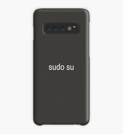 sudo su command Case/Skin for Samsung Galaxy