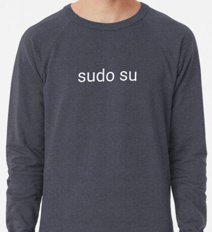 sudo su command Lightweight Sweatshirt