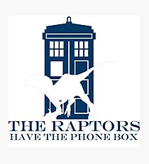 The raptors have the phone box 2 Photographic Print