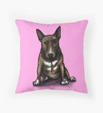 Bruce BullTerrier Bonus  Floor Pillow