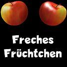 Apple Apfel Brüste Freches Früchtchen by JH-Design
