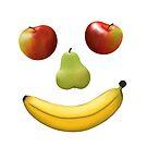 Fruit face / Obst Gesicht by JH-Design