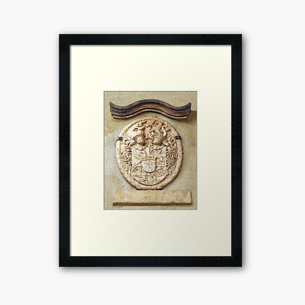 Genetti Family Coat-of-Arms Framed Art Print