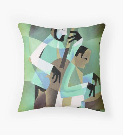 NHOP WITH KENNY DREW, COPENHAGEN Throw Pillow