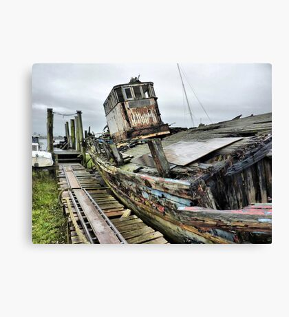 No Hope for The Good Hope  Canvas Print