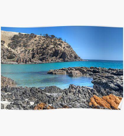 Western River Cove, Kangaroo Island, South Australia Poster