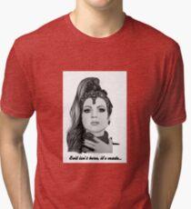 Evil Queen - Evil isn't born, it's made -  Tri-blend T-Shirt