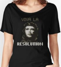 VIVA LA RESOLUTION Women's Relaxed Fit T-Shirt