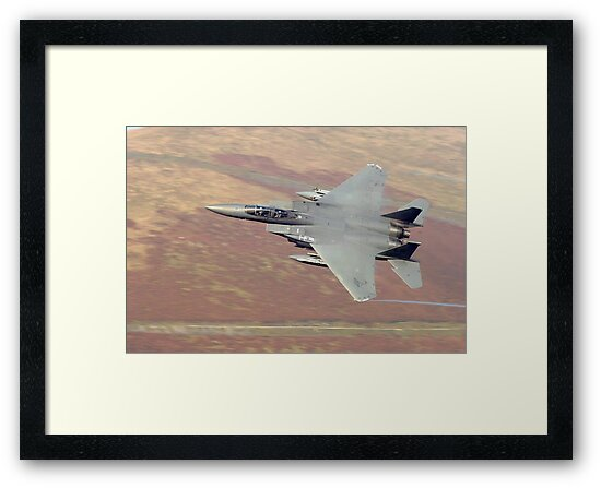 F15 eagle wales uk by Stephen Kane
