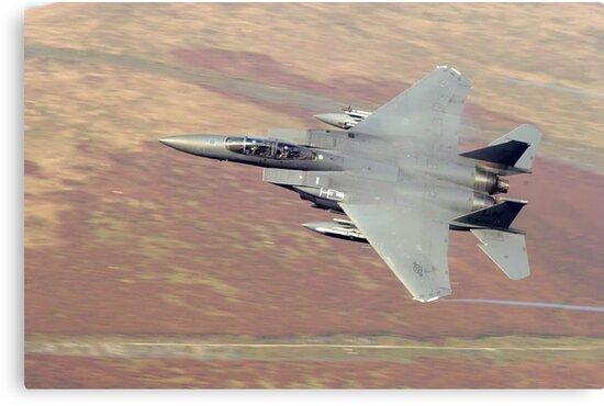 F15 eagle wales uk by Stephen Kane