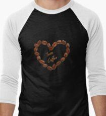 TEAM COFFEE Men's Baseball ¾ T-Shirt