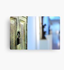 Museums' mood Canvas Print