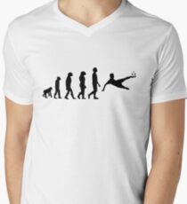 Evolution-Soccer Men's V-Neck T-Shirt