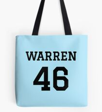 Warren #46 (for lighter color shirts) Tote Bag