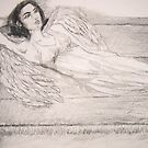 Angel At Rest (Sachiel) by Zelli