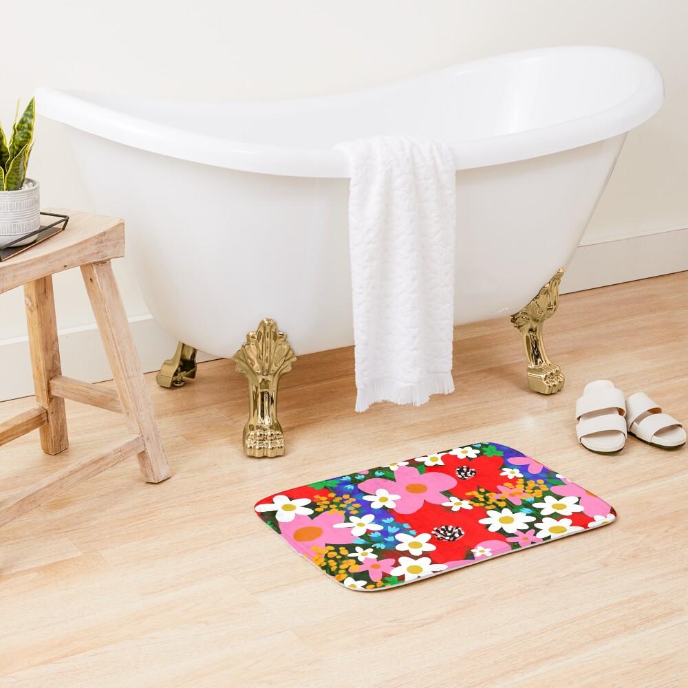 Flower Power! Bath Mat