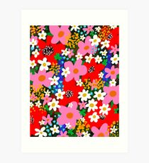 Flower Power! Art Print