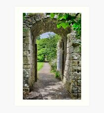 Where Monks once passed. Art Print