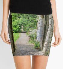 Where Monks once passed. Mini Skirt