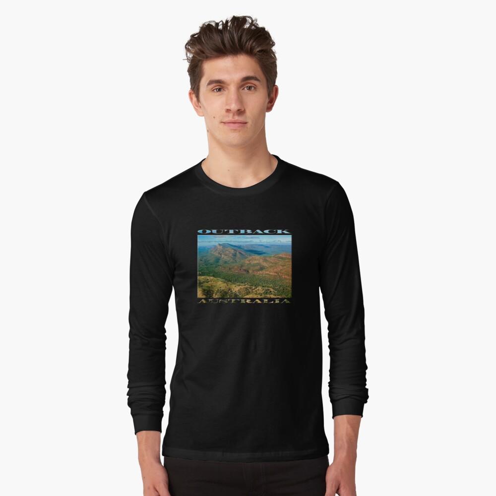 Rawnsley Bluff III (poster on black) Long Sleeve T-Shirt