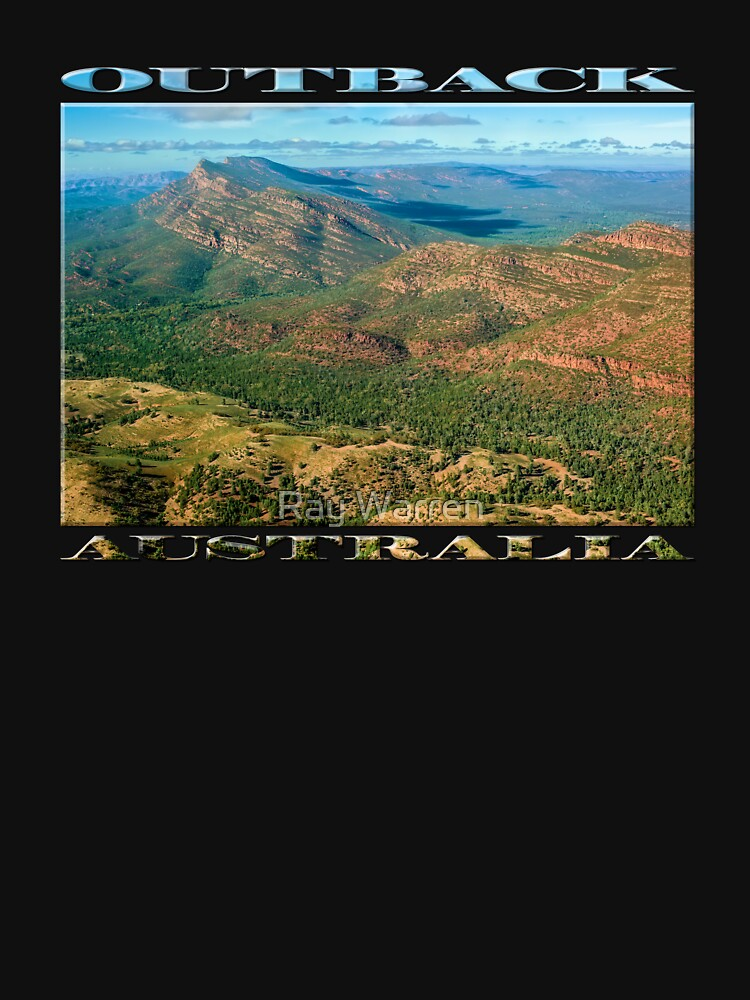 Rawnsley Bluff III (poster on black) by RayW