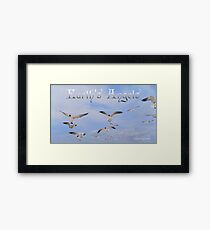 Earth's Angels Framed Print