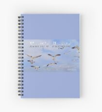 Earth's Angels Spiral Notebook
