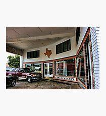 Grimes Garage in Hillsboro, Texas Photographic Print
