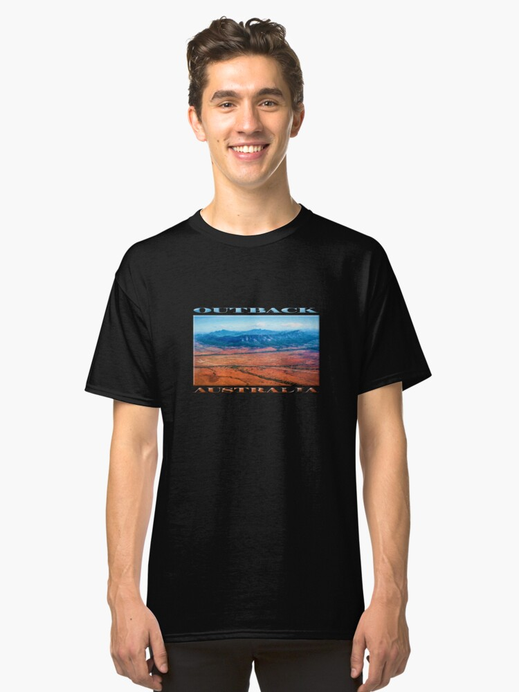 Alternate view of Wilpena Pound  (digital painting) Classic T-Shirt