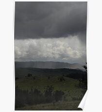 Kamloops rainstorm Poster