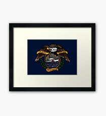Death Before Dishonor - CG 87 WPB Framed Print